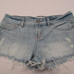 Victoria's Secret PINK Distressed shorts Sz 2